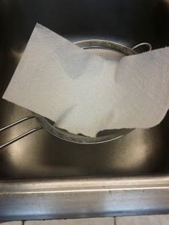 paper-towel-in-strainer-small