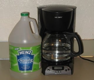 How Much Vinegar Does It Take To Clean A Coffee Maker