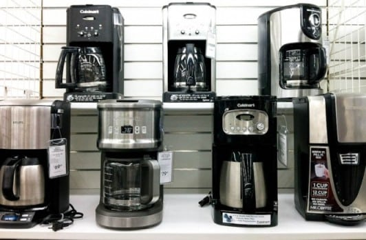 coffee maker features