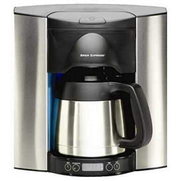 Programmable 4 Cup Recessed Coffee Maker by Brew Express