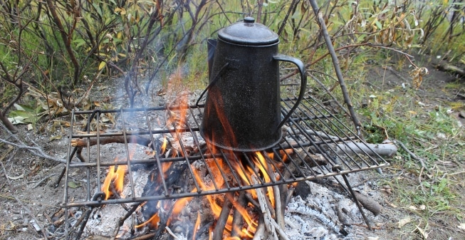 Percolator vs French Press Coffee While Camping