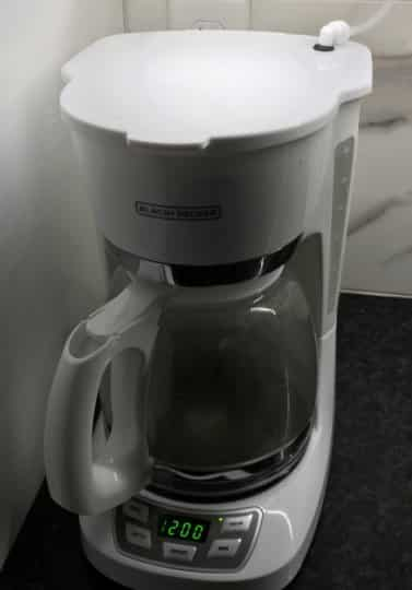 plumbed coffee maker kit