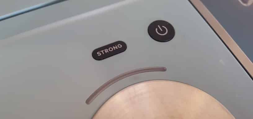 Keurig Strong Brew Button on K-Mini Plus